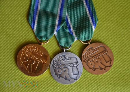 "Odznaki ""Za Zasługi dla Transportu PRL"""