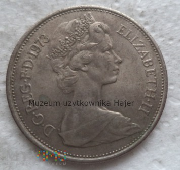 Ten New Pence - 1973 rok - Wielka Brytania