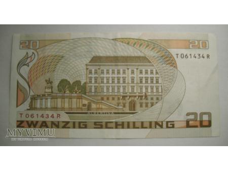 20 SCHILLING - Austria (1986)