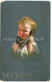 Uśmiech telefoniczny - I ćwierć XX w.