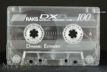RAKS DX 100 kaseta magnetofonowa