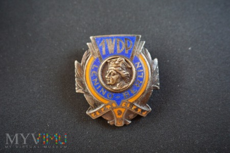 Duże zdjęcie Pamiątkowa Odznaka Kościuszkowska 1WDP - RR