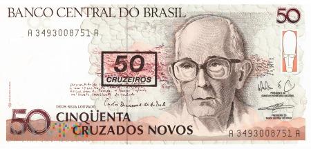 Brazylia - 50 cruzeiros (1990)