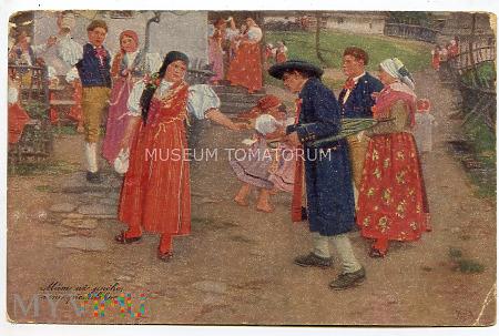 Douby - Impreza ludowa - 1918