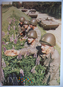 LWP Pododział zmechanizowany na bojowych wozach