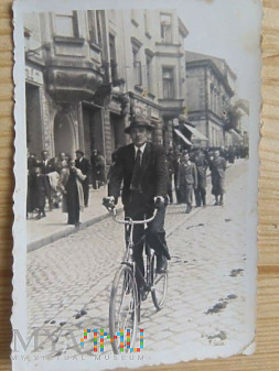 Rowerem z Czermina k.Mielca do Krakowa