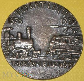 Medal 110 lat  linii Tarnów - Leluchów