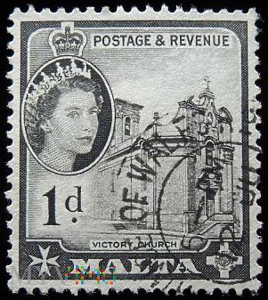 Malta 1d Elżbieta II