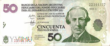 Argentyna - 50 pesos (2006)