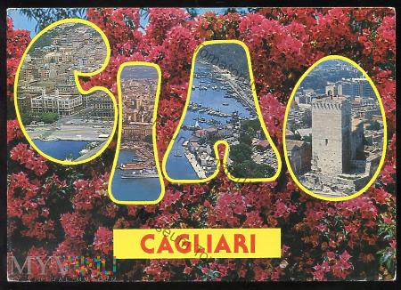 Cagliari - Pozdrowienia - lata 70/80-te XX w.