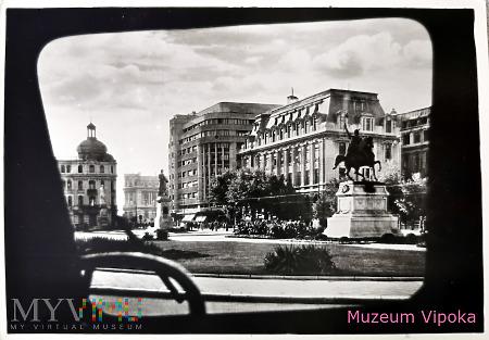 Bukareszt - Michał Waleczny na placu Uniwersytetu