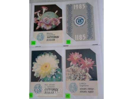 Kalendarzyki 1985