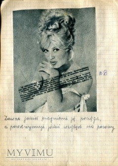 Brigitte Bardot Kim Novak + scrapbooking