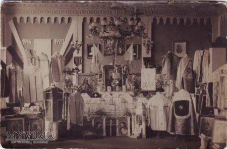 Wągrowiec - wystawa ornatów 1938 rok