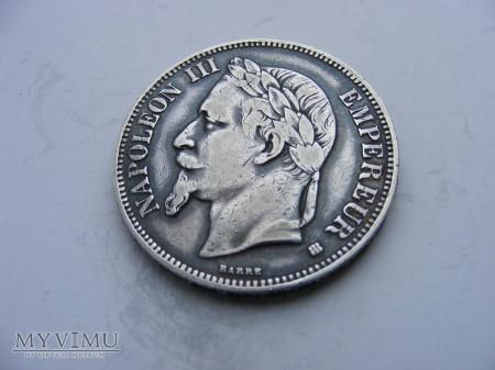 5 FRANKÓW - 1868 BB