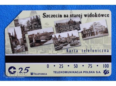 Szczecin na starej widokówce