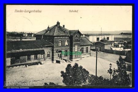 BIELAWA Nieder-Langenbielau , Dworzec kolejowy