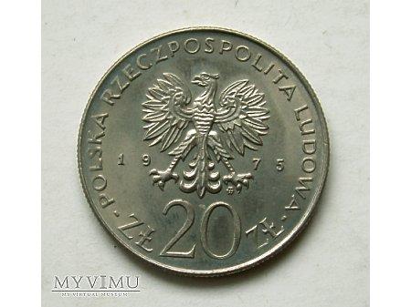 PRL- 20 zł rok 1975- Międzynarodowy rok kobiet