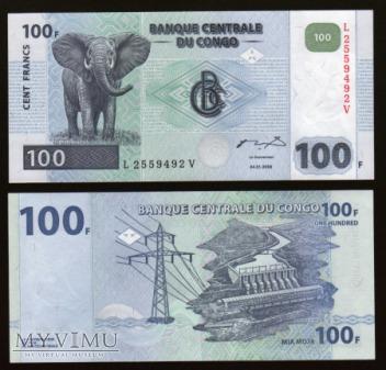 Congo - P 92 - 100 Francs - 2000