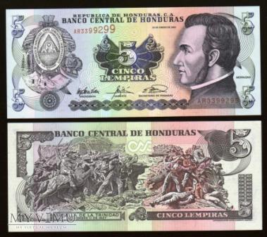 Honduras - P 85 - 5 Lempiras - 2003
