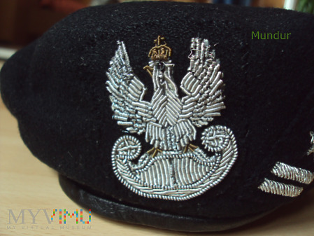 Beret czarny WP płk