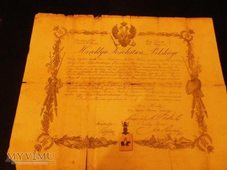Duże zdjęcie Dokumenty z Heroldyi Królestwa Polskiego