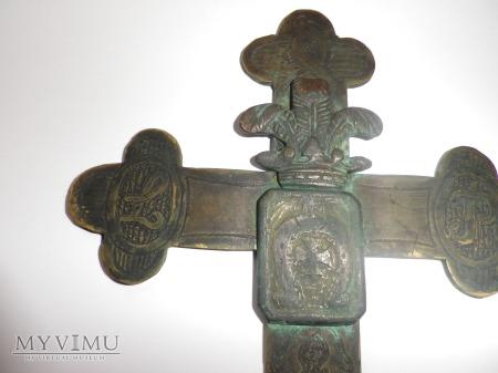 Herb Krzywda-krzyż