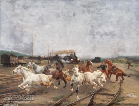 Houard - Katastrofa z pociągiem w tle