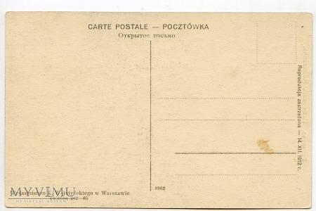 W-wa - pomnik Mickiewicza - 1912