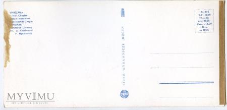 W-wa - pomnik Chopina - 1962