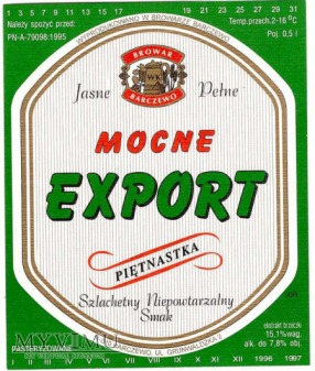 mocne export piętnastka
