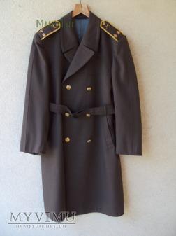 Czechosłowacki płaszcz - podplukownik