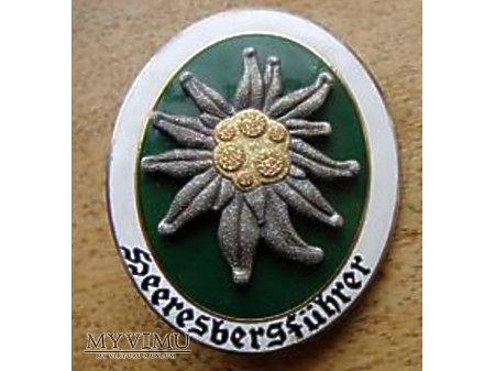 Duże zdjęcie Niemiecka odznaka Heeresbergfuhrer wz57