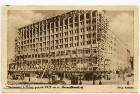 Duże zdjęcie Warszawa - Dom pod sedesami - 1950