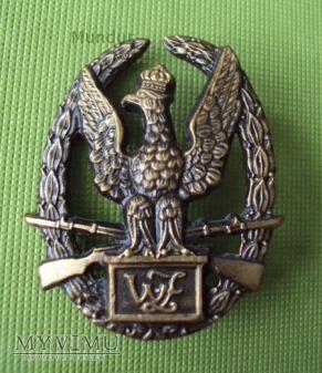 """Odznaka tytułu honorowego """"Wzorowy Żołnierz"""""""
