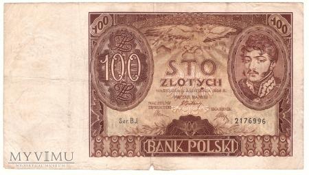 Duże zdjęcie 100 zł 1934r.