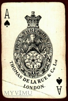 Pikowy As. Thomas de la Rue & Comp. London