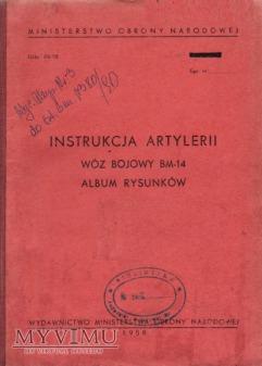 Wóz bojowy BM-14. Album rysunków z 1958 r.