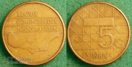 Holandia, 1988, 5 guldenów