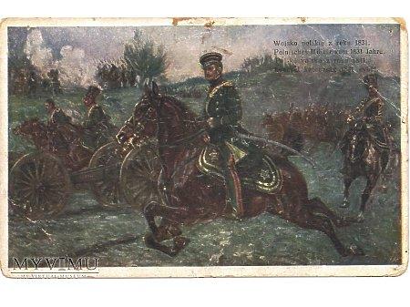 Duże zdjęcie Wojsko polskie z roku 1831.