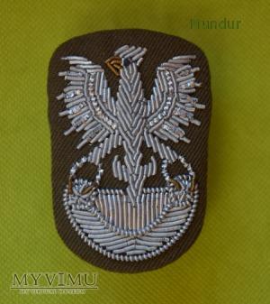 Orzełek wz.71 haftowany bajorkiem (gabardyna)
