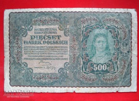 500 marek polskich 1919 rok