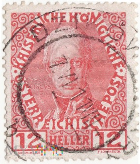 Austria, Franciszek Józef I - 12 Heller r1908