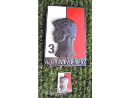 Duże zdjęcie Odznaka Wzorowy Żołnierz wz.68