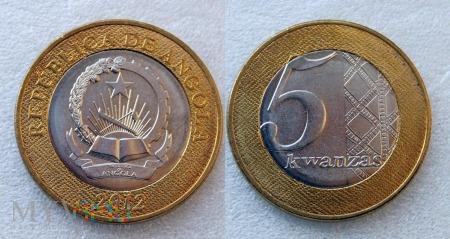 Angola, 5 Kwanza 2012
