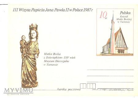 III WIZYTA PAPIEŻA JANA PAWŁA II W POLSCE 1987 2