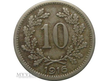 10 heller 1916 rok.