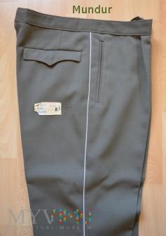 NVA spodnie z białą lamówką