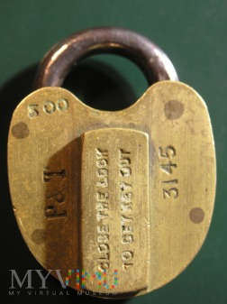 New Zealand Post & Telegraph Padlock