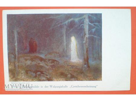 c. 1910 Małgorzata Faust Mefistofeles Thale